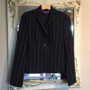 Ralph Lauren Collection purple label blazer. Sz 2